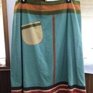 Anthropologie Cosmopolitan Skirt by Neesh. Large.